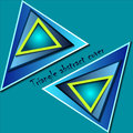 Free Triangle Abstract Cover Vector Royalty Free Stock Images - 28766119