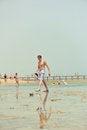 Free Walking On Water Stock Image - 28767361
