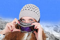 Free Portrait Of Pretty Snowboarders Winter Stock Photo - 28769340