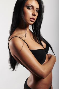 Free Brunette Woman Stock Images - 28760784