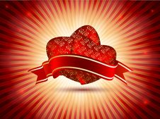 Free Red Valentines Day Backdrop Royalty Free Stock Image - 28760876