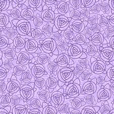 Free Abstract Roses Seamless Pattern Royalty Free Stock Photos - 28761118