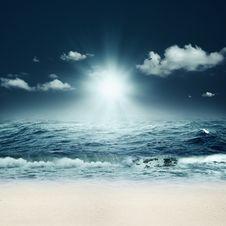Free Beautiful Sea. Royalty Free Stock Photo - 28762075
