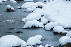 Free Snow, Ice And Stream Royalty Free Stock Photos - 28764638