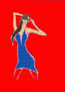 Free Dancing Girl Royalty Free Stock Photo - 28765675
