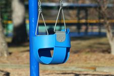 Free Baby Swing At Playground Royalty Free Stock Photography - 28769147