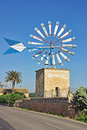 Free Windmill In Majorca Royalty Free Stock Photography - 28772637