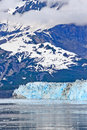 Free Alaska Hubbard Glacier, Clouds, Mountains Stock Photo - 28777090