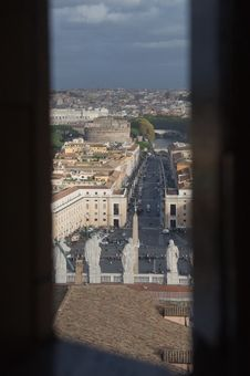 Free Rome / Vatican - View On Saint Peters Square Stock Image - 28774211