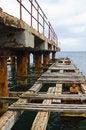 Free Deserted Old Bridge Floor. Rusty And Unusable. Royalty Free Stock Image - 28783016