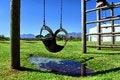 Free Swing In Children Playground Stock Photography - 28789092