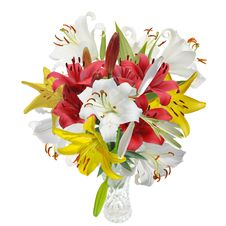 Free Bouquet  Lily Royalty Free Stock Photo - 28780605