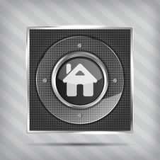 Free Home Button Icon Stock Photography - 28781172