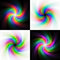 Free Rainbow Swirl Backgrounds Royalty Free Stock Photos - 28785358