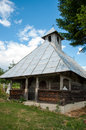 Free Old Traditional Wooden Church In Rural Romania Stock Photos - 28790683