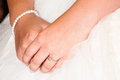 Free Hands Of A Young Bride Stock Photo - 28790970