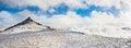 Free Alpine Peak Panorama Royalty Free Stock Photography - 28792847