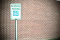Free Handicap Parking Stock Photography - 28793982
