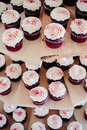 Free Red Velvet Cupcakes Stock Photo - 28794180