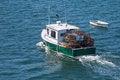 Free Lobster Boat At Sea Royalty Free Stock Image - 28797866
