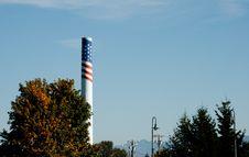 Free Patriotic Smokestack Stock Images - 28790584