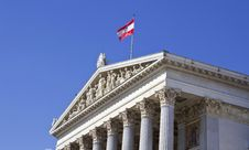 Free Austrian Parliament Stock Image - 28792971