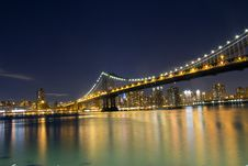 Free Manhattan Bridge Royalty Free Stock Photo - 28794705