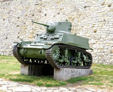 Second World War Tank Royalty Free Stock Photo