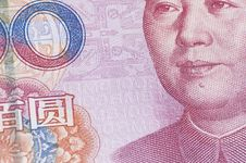 Free Close Up Of 100 RMB Banknote Stock Images - 28797454
