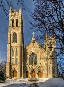 Free St-Viateur D Outremont Church Royalty Free Stock Photos - 28799778