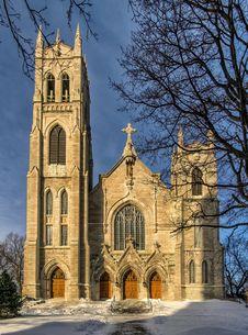 St-Viateur D Outremont Church Royalty Free Stock Photos