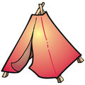 Free Tent Royalty Free Stock Image - 2887276