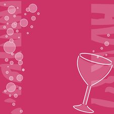 Free Wine Banner Royalty Free Stock Images - 2880519