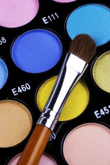 Free Make-up Palette Royalty Free Stock Photography - 2881267
