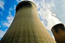 Free Cooling Towers Stock Image - 2882571