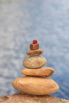 Free Stones And Sea Stock Image - 2882751