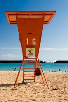 Free Lifeguard Stand Stock Photography - 2886432