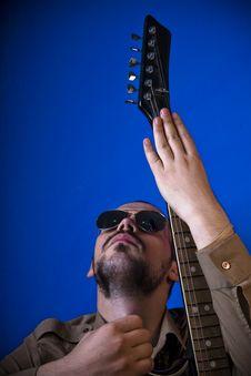 Free Rocker Guitar Pose Stock Photos - 2887863
