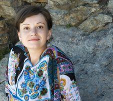 Free Portrait Of The Girl Brunette Stock Images - 2888274