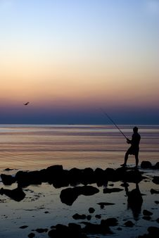 Free The Young Fisherman Royalty Free Stock Photography - 2888367