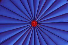 Free Blue Hot Air Balloon Stock Photography - 2888612