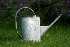 Free Watering Can In Garden Stock Photo - 2888860