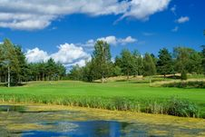 Free Golf Playground Stock Photography - 2888942