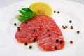 Free Salami Sausage Royalty Free Stock Image - 28802176