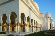 Free Sheikh Zayed Al Nayhan Mosque Royalty Free Stock Photography - 28800627