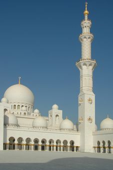 Free Sheikh Zayed Al Nayhan Mosque Royalty Free Stock Photos - 28800658