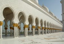 Free Sheikh Zayed Al Nayhan Mosque Royalty Free Stock Image - 28800866