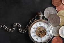 Free Time Is Money Stock Photo - 28801030