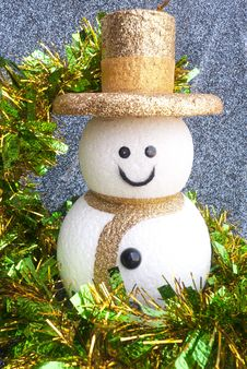 Free Snowman For Christmas Royalty Free Stock Image - 28801606