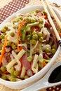 Free Oriental Veggie Salad Royalty Free Stock Photos - 28814598